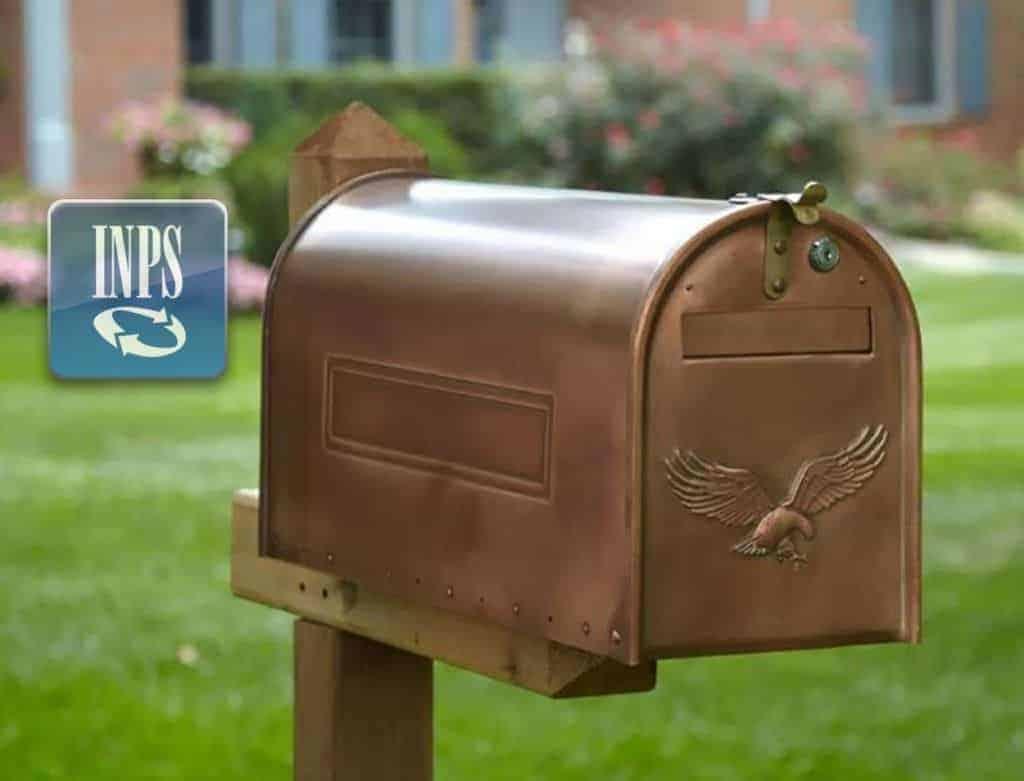 La cassetta postale Inps