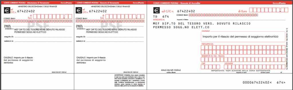 I costi del permesso di soggiorno 2019