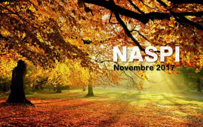 Pagamento Naspi a Novembre 2017