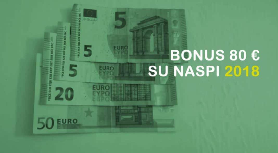 Bonus 80 euro naspi 2018