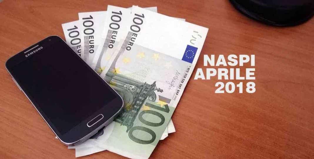 Pagamento Naspi ad Aprile 2018