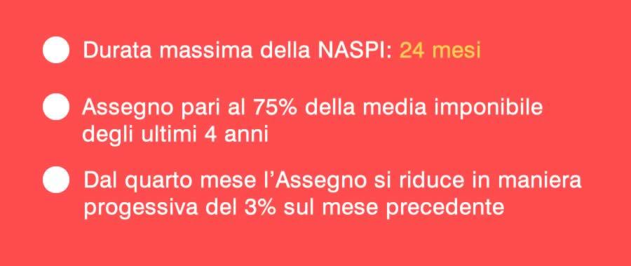 Durata Naspi 2018