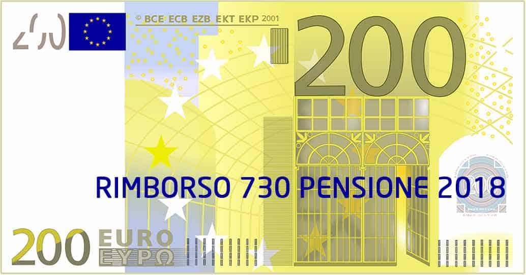 Verifica il Rimborso 730 sulla Pensione 2018