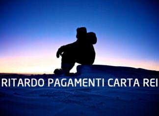 Ritardo Pagamenti Carta REI