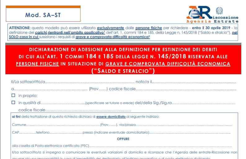 Modulo SA - ST