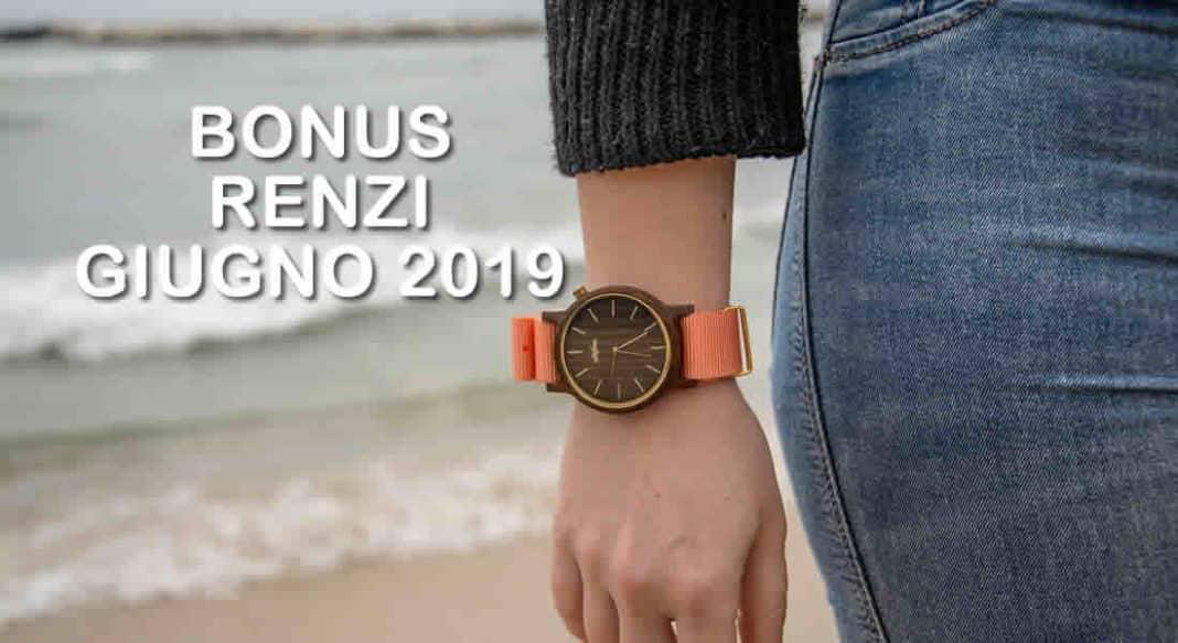 Quando arrivano i pagamenti del Bonus Renzi su Naspi Giugno 2019