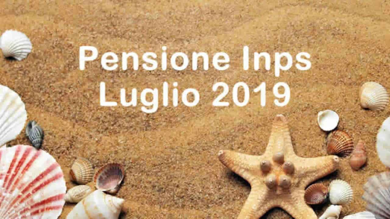 Calendario Pagamento Pensioni Inps.Il Pagamento Delle Pensioni A Luglio 2019 Calendario