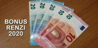 Quando pagano Bonus Renzi 2020 - quando entrano 80 euro su Naspi?
