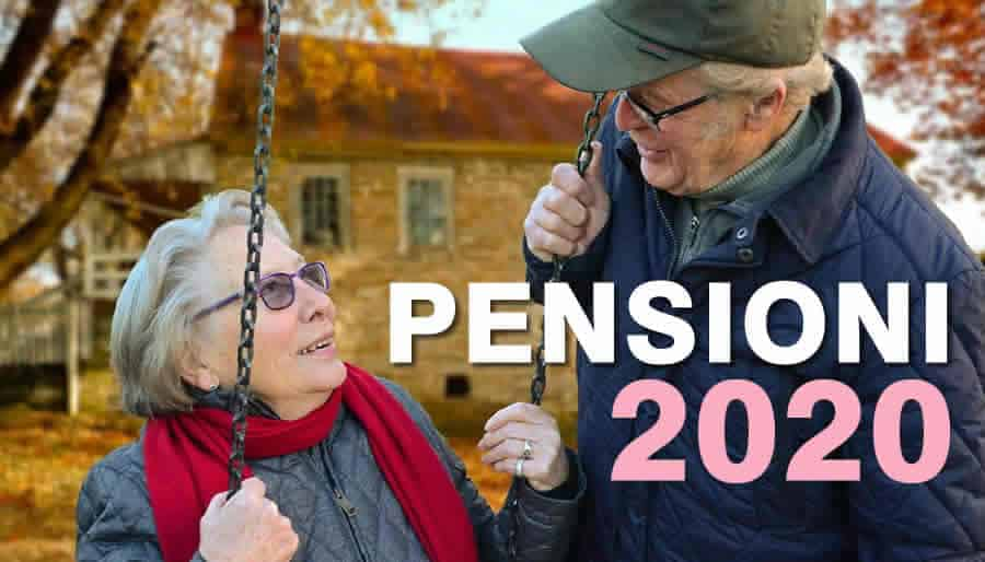 Il Calendario dei Pagamenti delle Pensioni 2020