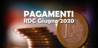 Reddito di Cittadinanza Rdc a Giugno 2020