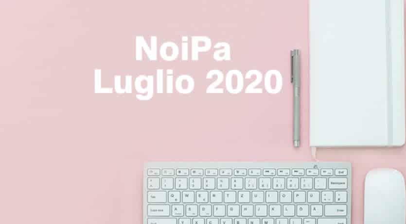 Data pagamento stipendio NoiPa Luglio 2020