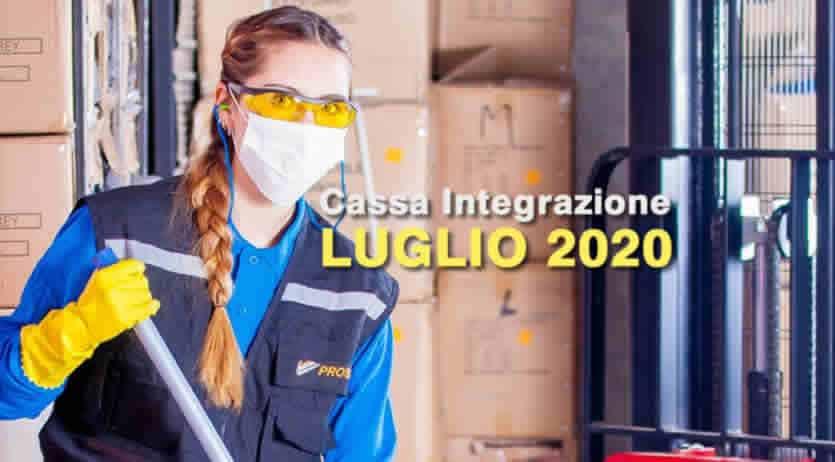 cassa integrazioni pagamenti luglio 2020