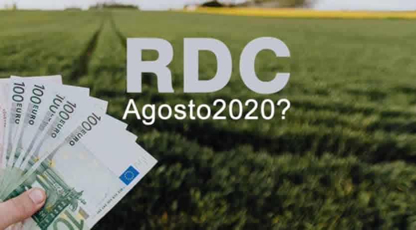 Reddito cittadinanza quando pagano agosto 2020?