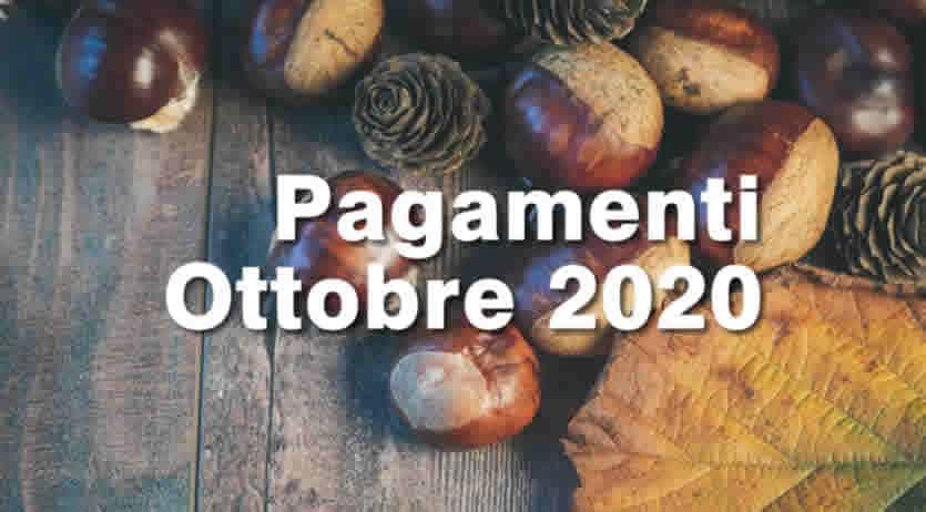Quando arrivano pagamenti Inps ad Ottobre 2020