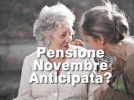 Quando pagano pensioni Novembre 2020?