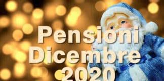 Calendario Pagamenti Pensione Dicembre 2020