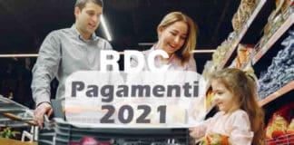Quando caricano il Reddito di Cittadinanza nel 2021?