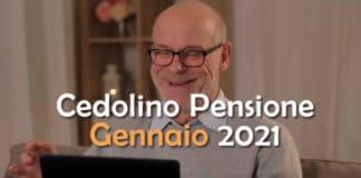 Come visualizzare Cedolino Pensione a Gennaio 2021