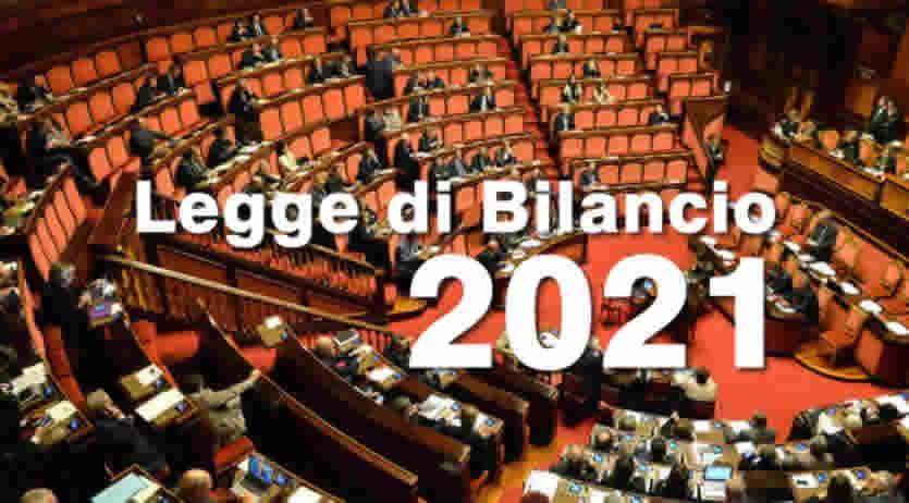 Cosa prevede la legge di bilancio 2021