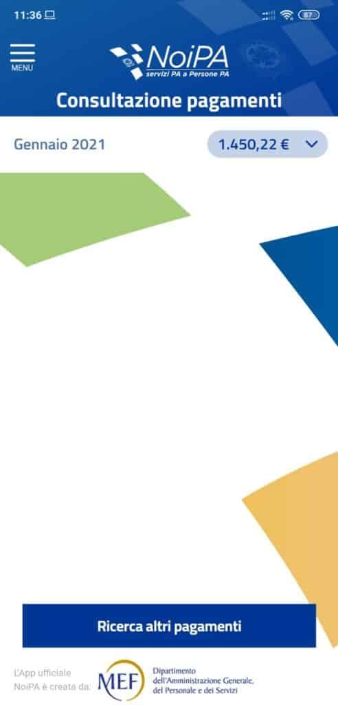 Cedolino NoiPa Gennaio 2021