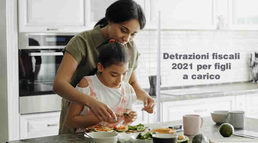 figli a carico 2020 - detrazioni fiscali