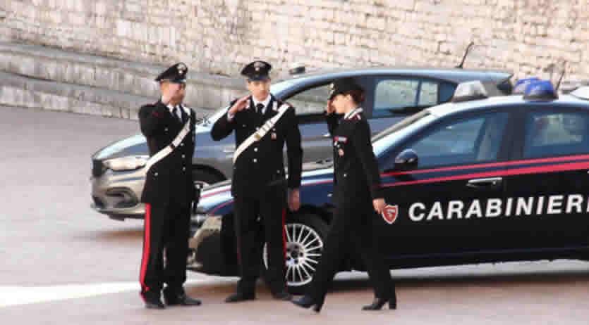 consegna pensioni over 75 Carabinieri