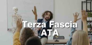 ATA 2021 terza fascia inserimento ed aggiornamento graduatorie
