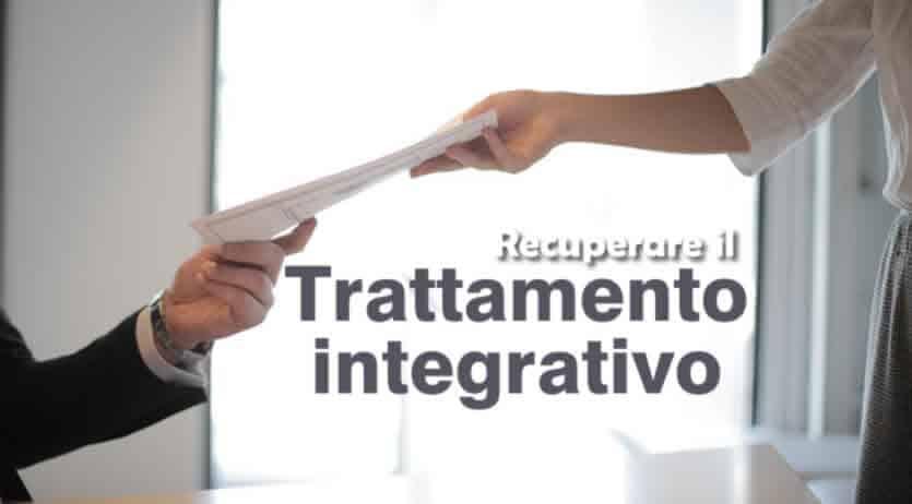 recuperare 1200 euro trattamento integrativo
