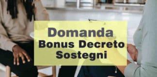 bonus 2.400 euro 2021 - DL Sostegni