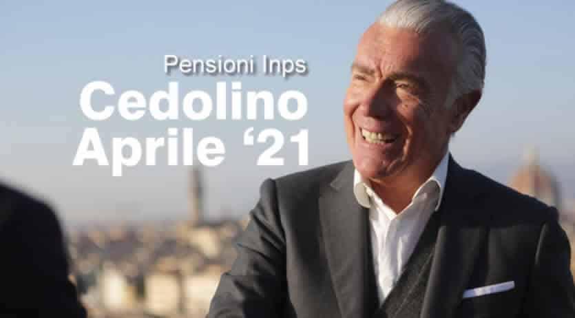 Calendario Cedolino Inps Aprile 2021