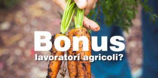 Arriva il bonus da 2.400 euro per agricoli?
