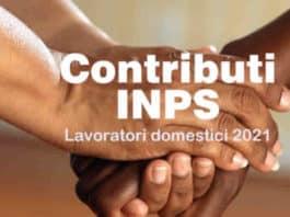 Primo Trimestre 2021 contributi lavoratori domestici