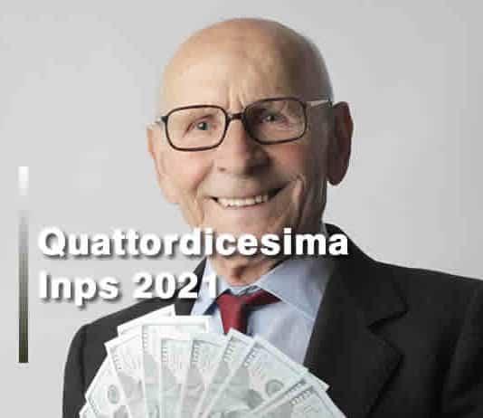 A chi spetta 14esima Inps pensionati 2021