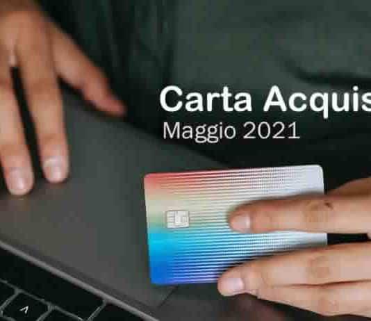 Ricarica Social Card Maggio 2021