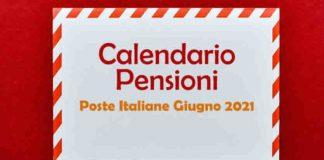 quando pagano pensioni inps poste giugno 2021