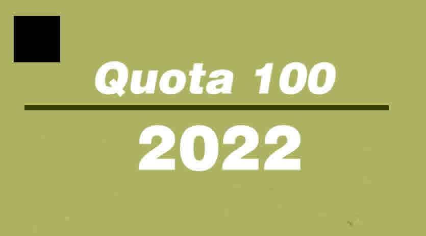 Quota 100 nel 2022 chi può accedere
