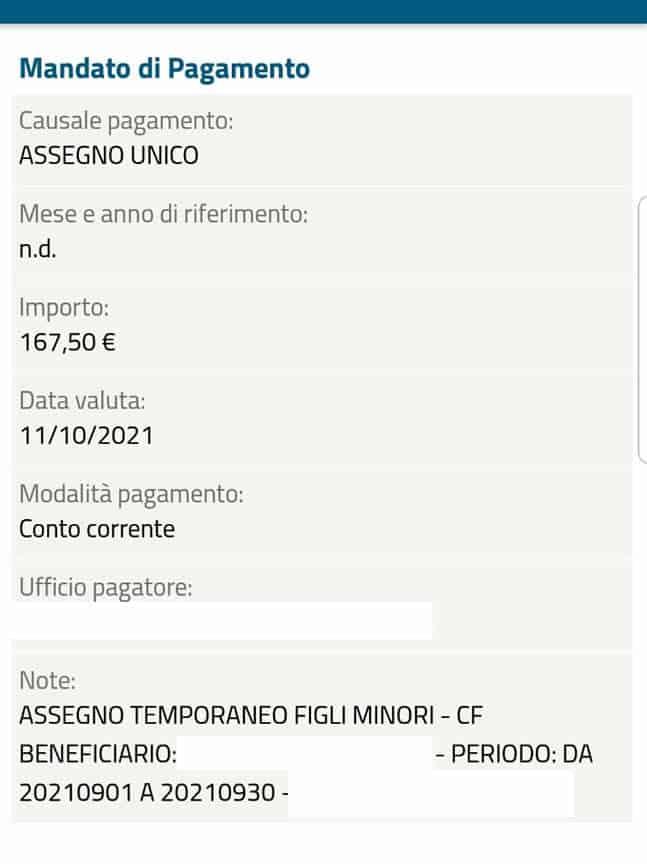 L'Assegno Unico Inps - Il pagamento ad Ottobre 2021